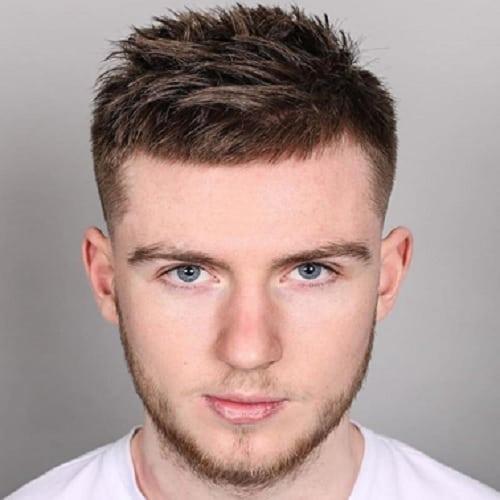 brush cut for white boy