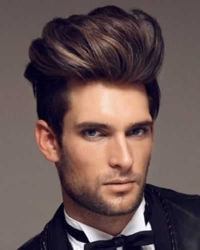 white boy hairstyle with faux hawk