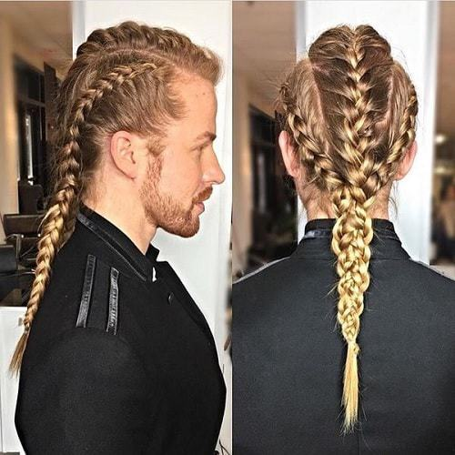 Braids for White Men , The Coolest Hairstyles to Rock [2019