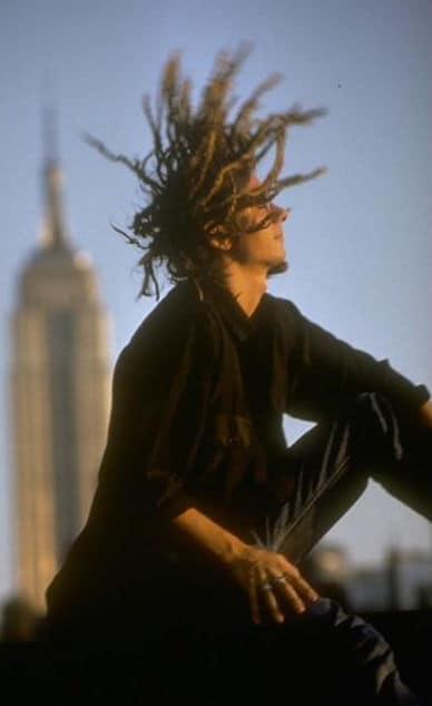 Photo of Willi One Blood dreadlocks hairstyle.