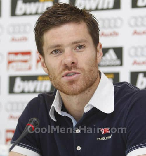 Picture of Xabi Alonso with beards.