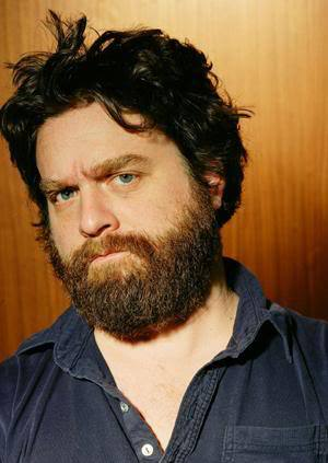 Zach Galifianakis ironic beard.