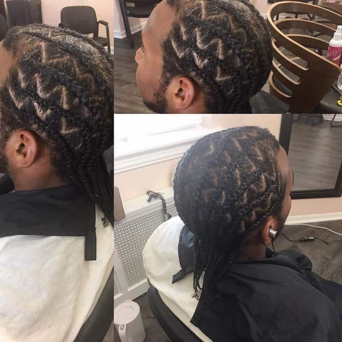 zig zag braids